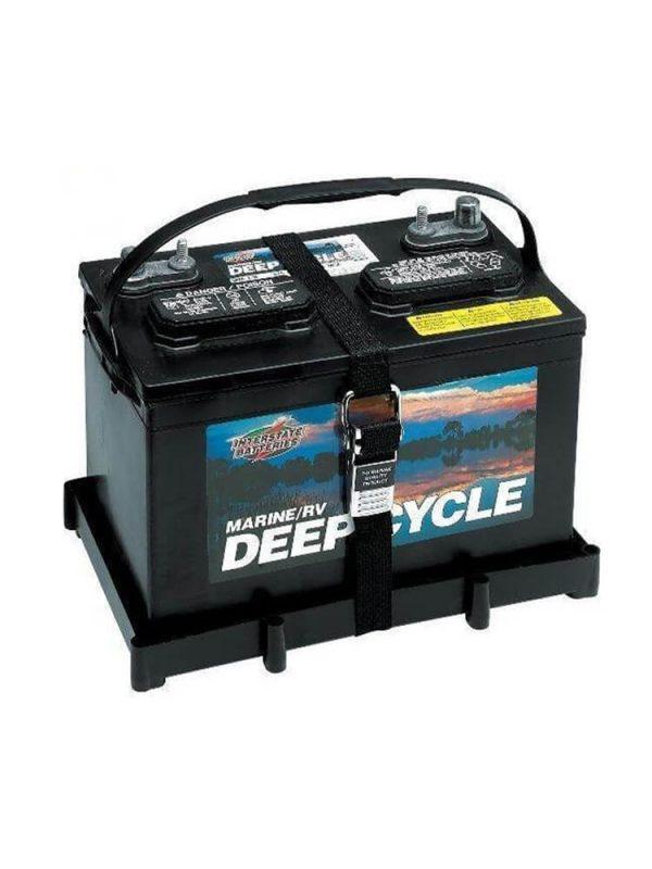Vassoio porta batteria con fibbia in acciaio inossidabile - Batteria serie 29/31