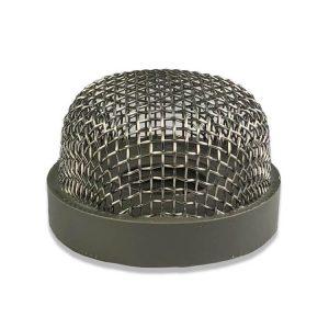 """Filtro a rete in acciaio inox -1 """"- 8 filettato"""